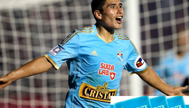 Sporting Cristal presentó pase celeste para el torneo 2014