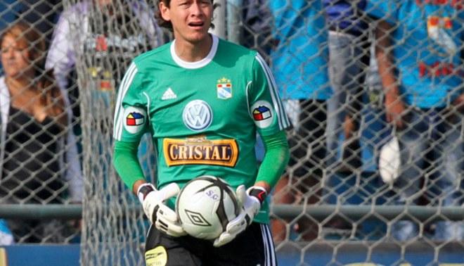 Diego Penny: Mantendré mi valla invicta contra Alianza Lima