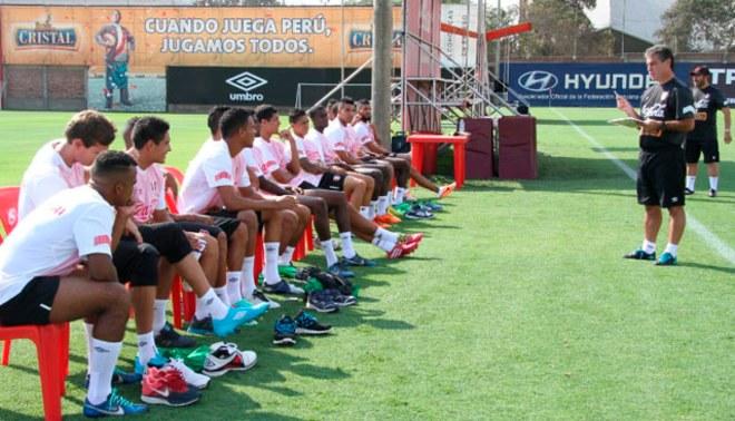 Selección Peruana: Pablo Bengoechea inció hoy los entrenamientos al mando de la 'Blanquiroja' [FOTOS]