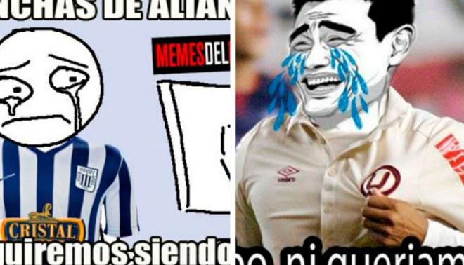 Universitario de Deportes vs Alianza Lima: Mira los 'memes' entre los 'compadres' [FOTOS]