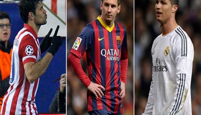 Atlético, Barcelona y Real Madrid luchan por ganar la Liga Española [INFO]