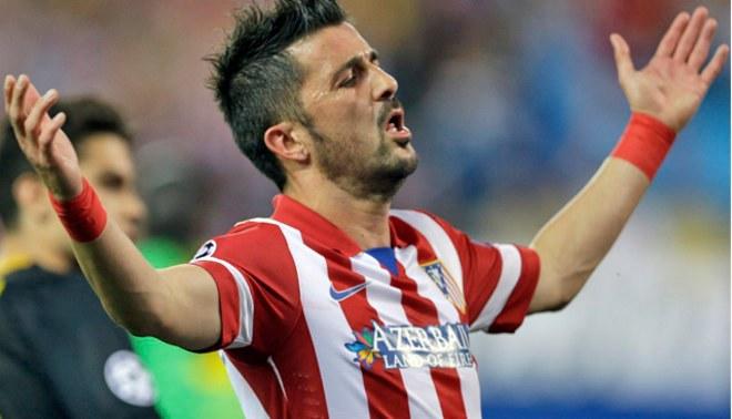 """Atlético Madrid vs. Barcelona: David Villa aseguró que eliminación  de los """"azulgranas"""" es mérito de los """"colchoneros"""""""