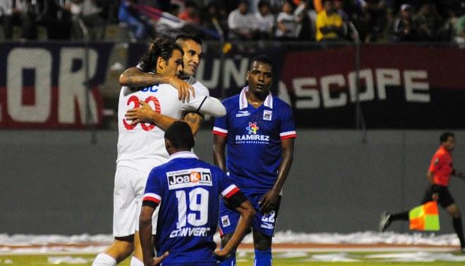 Alianza Lima venció 2-1 a Carlos Manucci en la noche de su presentación en Trujillo
