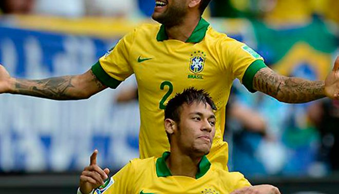 Brasil 2014: Mira la reacción de Neymar y Dani Alves al enterarse que fueron convocados para mundial [VIDEO]