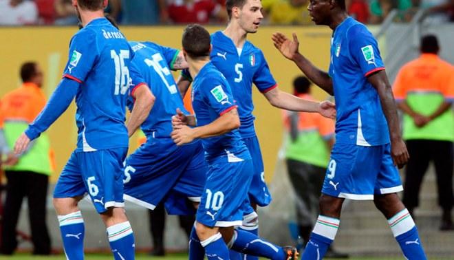 Brasil 2014: selección italiana confirmó lista de