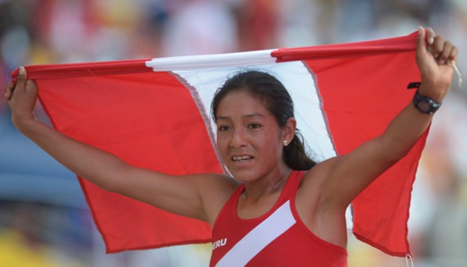 Inés Melchor ganó medalla de oro en el Iberoamericano de Atletismo de Sao Paulo