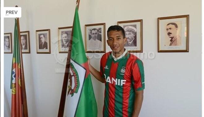 700995afc5 Jhonny Vidales ya posa con la camiseta del Marítimo de Portugal  GALERIA