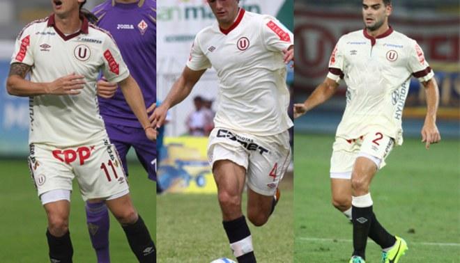 Universitario: Álvaro Ampuero, Fernando Alloco y Germán Alemano listos para el debut