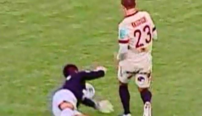 Sport Huancayo vs. Universitario: Cris Martínez y la forma más increible de fallarse un gol [VIDEO]