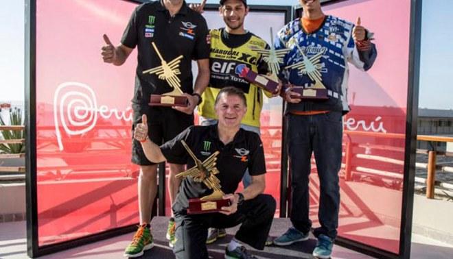 Dakar Desafío Inca: El peruano Alonso Elías logró histórico título en la categoría Quads [FOTOS]