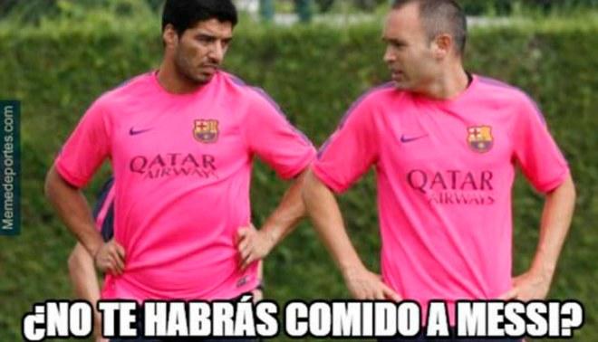 Barcelona: Gánate con los mejores memes sobre el posible sobrepeso de Luis Suárez [FOTOS]