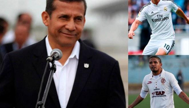 Ollanta Humala y su comparación entre Reimond Manco y James Rodríguez