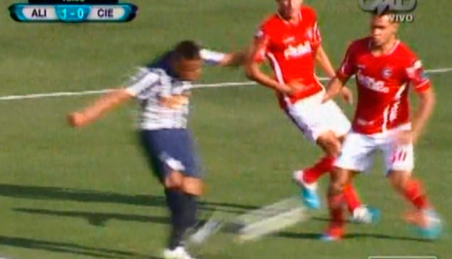 Alianza Lima vs. Cienciano: Christian Cueva anotó golazo al ángulo tras media vuelta [VIDEO]