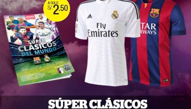 Súper Clásicos del Mundo: Conoce a los ganadores de las camisetas del Barza y R.Madrid