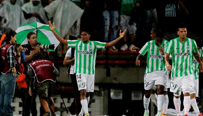 """Atlético Nacional vs. Sao Paulo: """"verdolagas""""  ganaron 1-0 la  primera semifinal de Copa Sudamericana [VIDEO]"""