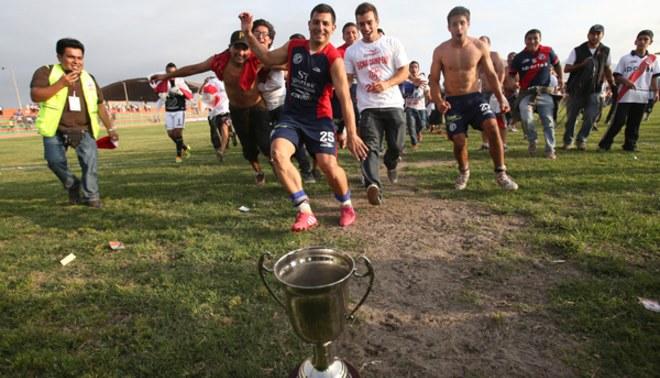 ¡La copa de campeones!