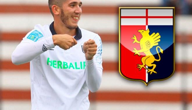 Santiago Silva jugará en el Génova de Italia en el 2015