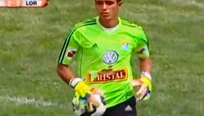 Copa Perú: arquero de Sport Loreto atajó la  final con la camiseta de Sporting Cristal [VIDEO]