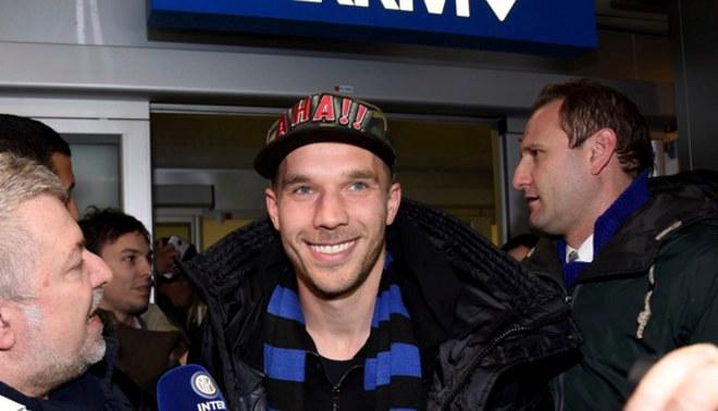 """Inter de Milán: Lukas Podolski dejó el Arsenal para jugar por los """"nerazzurris"""""""