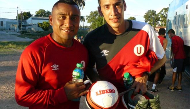 """La """"U"""" ante River Plate"""