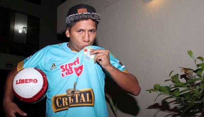 Sporting Cristal: Elsar Rodas prometió esfuerzo para ganarse el titularato