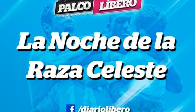 """Sporting Cristal: Vive """" La noche de la raza celeste"""" desde el Palco Líbero"""