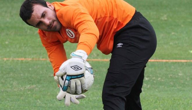 Universitario: José Carvallo será titular esta noche ante Deportivo Cali