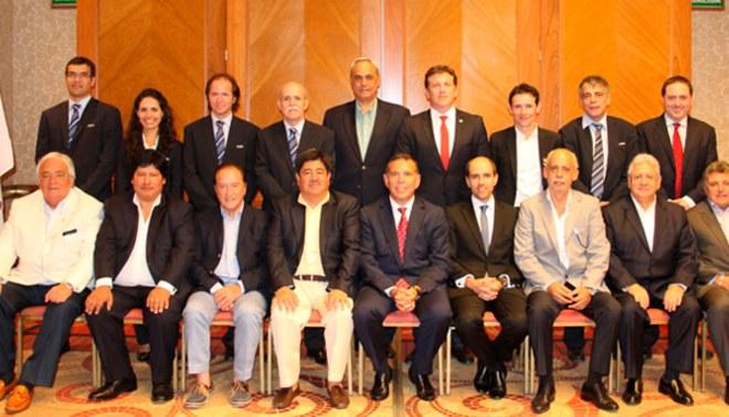 Manuel Burga reapareció en reunión de la Conmebol como asesor de la FPF
