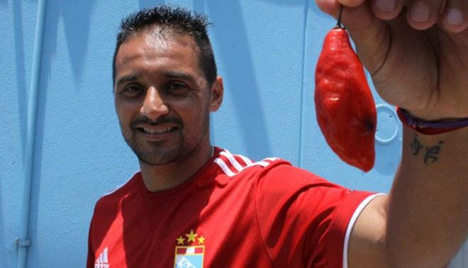 Sporting Cristal: César Pereyra  prometió otro hat-trick con la camiseta celeste