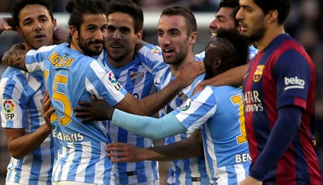 Barcelona perdió 0-1 ante el Málaga pero se mantiene segundo en la Liga BBVA [VIDEO]