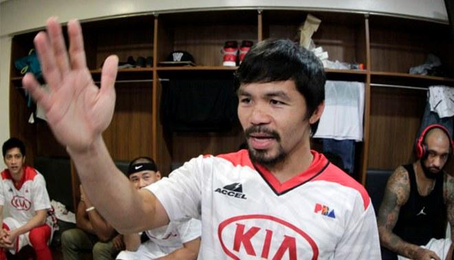 Manny Pacquiao confesó que no encontró entradas para su pelea con Floyd Mayweather Jr. [VIDEO]