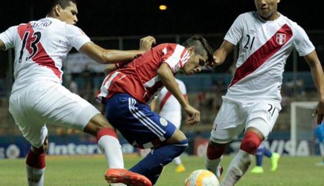 Perú vs. Paraguay: Bicolor cayó 2-0 en el Sudamericano sub 17 [FOTOS/VIDEO]