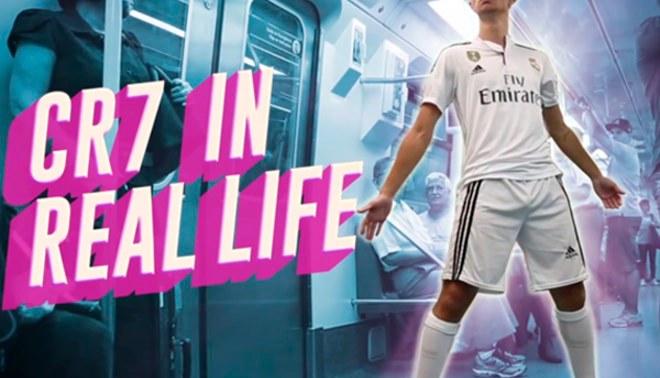 Cristiano Ronaldo: Así sería si se actuara en la vida real como en el campo [VIDEO]
