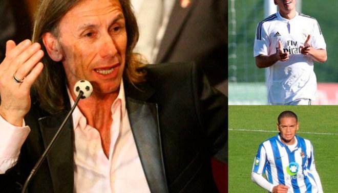 ¿Ricardo Gareca prefiere que Benavente y Callens jueguen en la primera división de Perú? [VIDEO]
