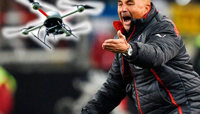 Copa América 2015: Jorge Sampaoli y el drone que provocó su ira en los entrenamientos de Chile [VIDEO]