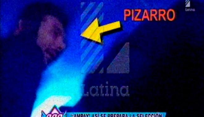 Claudio Pizarro, Zambrano, Deza y Reyna son captados de madrugada en discotecas limeñas [VIDEO]