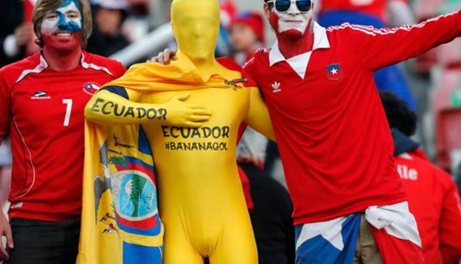 Copa América: así vivió el hincha previo al encuentro de Chile y Ecuador [FOTOS]
