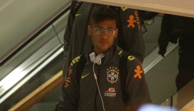 Copa América: Brasil con su estrella Neymar llegó a temuco para debutar ante Perú [FOTOS / VIDEO]
