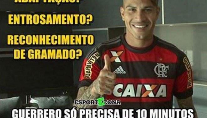 Paolo Guerrero: los mejores memes luego del debut con el Flamengo [FOTOS]