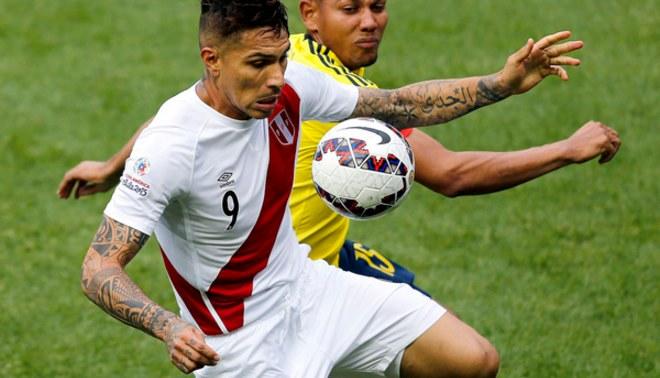 Selección Peruana debutaría ante Colombia en inicio de Eliminatorias a Rusia 2018