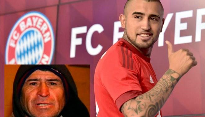 Arturo Vidal: padre del jugador del Bayern Múnich es detenido con droga