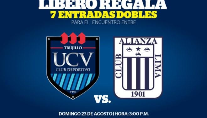 Gana entradas dobles para el Cesar Vallejo vs Alianza Lima