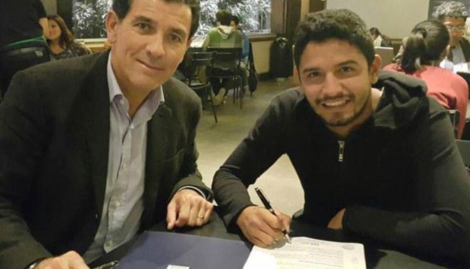 Alianza Lima: Reimond Manco firmó su vínculo por un año y medio con los 'grones'