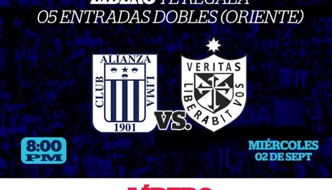 Alianza Lima vs. USMP: Sorteamos 5 entradas dobles oriente, participa y gana