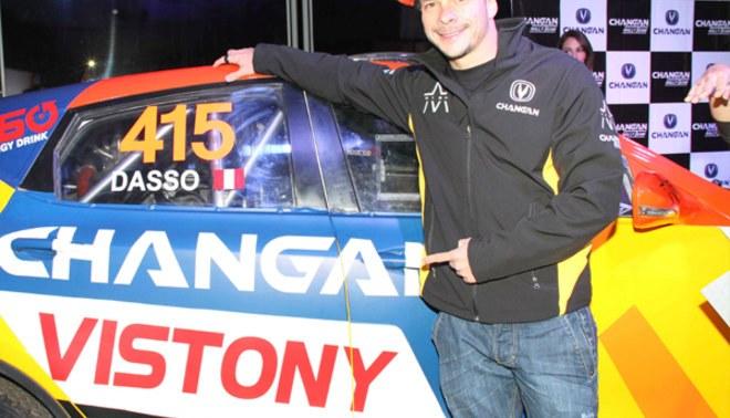 Mario Hart presentó auto con el que competirá en los Caminos del Inca