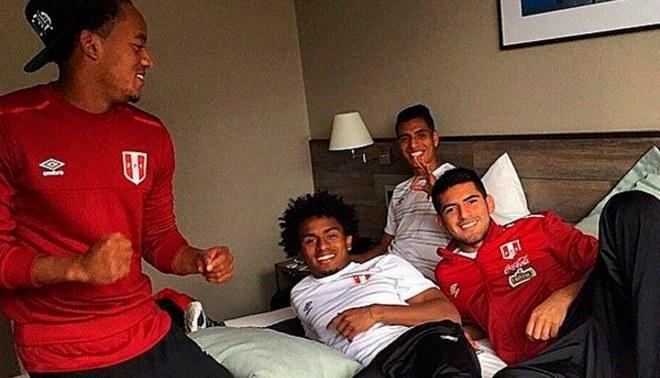 Selección Peruana: André Carrillo y Carlos Zambrano habrían estado en fiesta por la madrugada