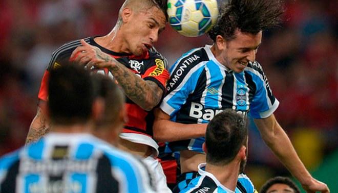 Paolo Guerrero: Flamengo cayó 2-0 ante el Gremio por Brasileirao [VIDEO]