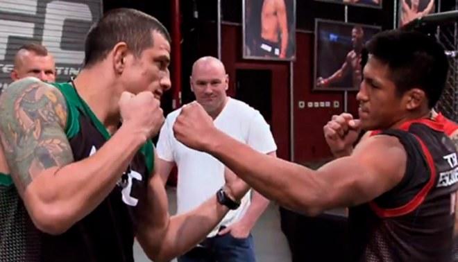 Enrique Barzola vs. César Arzamendia por la semifinal del TUF Latinoamérica [VIDEO]