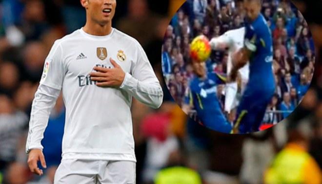 YouTube: Cristiano Ronaldo noqueó de balonazo a rival y este lo comparó con Mayweather [VIDEO]