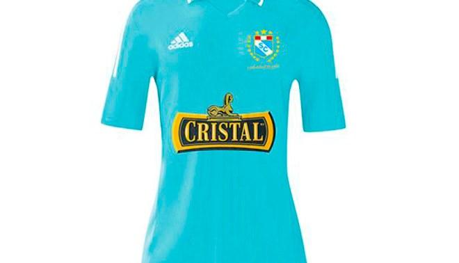 462645469fb7f Sporting Cristal  conoce la camiseta que utilizarían los  celestes  el 2016   FOTOS